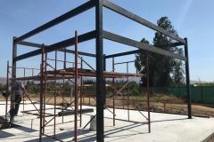 Refuerzo Panel SIP con estructura metálica