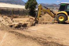 Excavacion con Retroexcavadora
